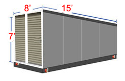 Midsize  sc 1 st  Kearney Nebraska & Portable Storage Containers | On-Site
